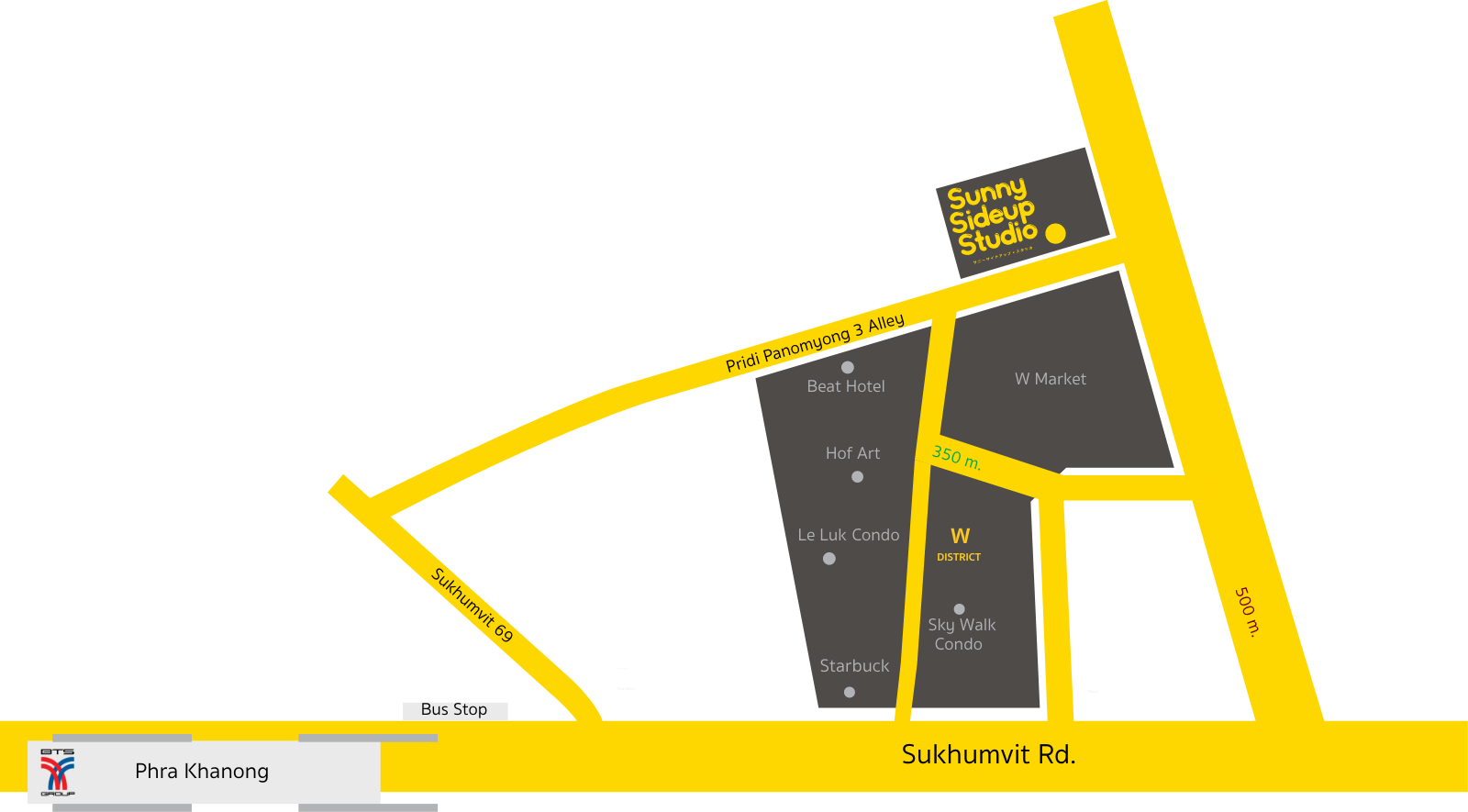 Sunnysideup Studio map